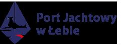 Port Jachtowy w Łebie Logo